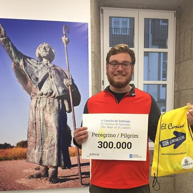 Andrew Patrick, el peregrino 300.000