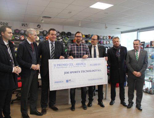 Jin Sports Technology, recibe el premio CEL-ABANCA por su iniciativa emprendedora