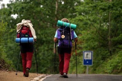 Transporte de mochilas en el Camino de Santiago a través de la nueva app Pilbeo
